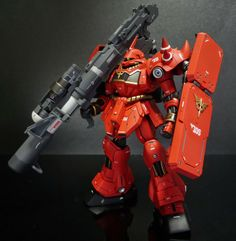 GUNDAM GUY: 1/144 AMS-119 Geara Doga Full Frontal Use - Customized Build