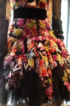 McQ opens new London store. I WANT THIS DRESS!