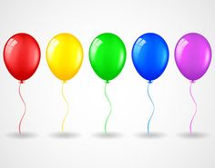 Balloons 17 inch balloons Party Balloons Latex by ThePartyGnome