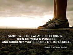 Doing the imposible #run #quote