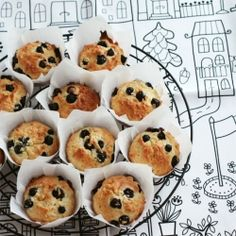 Classic Blueberry Muffins made healthier and absolutely scrumptious!