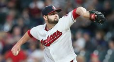 Cleveland Indians relief pitcher Nick Goody pitched a shutout 9th inning against the Oakland Athletics at Progressive Field, Cleveland, Ohio, on May 30, 2017. Goody had not given up a run this season yet. (Chuck Crow/The Plain Dealer) Indians won 9-4