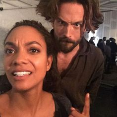"""accras: """"I'm not sure about Crane's new look. You? - @lyndieloohoo#sleepyhollow #tommison """" [X]"""