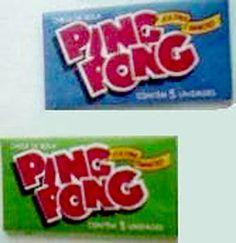 Ping Pong  - Um chiclete baratinho e gostoso   Foto: Reprodução