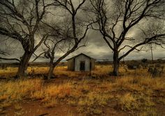 Abandoned School House by John Forrey Cochise County AZ
