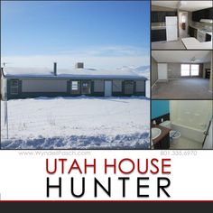**NEW LISTING** 10305 W 13600 N Tremonton, UT 84337 $122,000 3Bedrooms|2Bathrooms|1,540 Sq. Ft.  Single-Family Remarks: WIDE OPEN SPACES!! Practically no neighbors! Check out this manufactured home for sale! AMAZING views of the mountains! Open floor plan with a fireplace in the living room. Garden tub and separate shower in the master bedroom. Walk-in closet in the master bedroom!  See more at http://www.wyndellpasch.com/mls/1354690 or give us a call at 801-335-6970