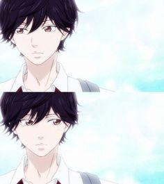 Mabuchi Kou or Tanaka Kou. Anime Ai, Anime Love, Kawaii Anime, Anime Manga, Anime Guys, Me Me Me Anime, Ao Haru Ride Kou, Tanaka Kou, Mabuchi Kou