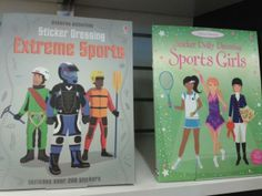 "gendered sticker books depicting acceptable roles for the sexes plus the usage of the juvenile word, ""dolly"" sticker dressing for the girls version but just ""sticker dressing"" for the boys. The subtle underlying message that girls are more infantile. Gender Issues, Gender Roles, Sticker Books, Gender Stereotypes, Reproductive Rights, Lgbt Rights, Advertising, Ads, Anti Racism"