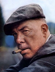 "Lee Marvin en ""El Emperador del Norte"" (Emperor of the North Pole), 1973"