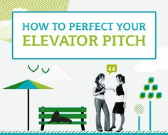 An elevator pitch is a term coined to tell somebody about your profession in the time it takes someone to ride an elevator, usually within 60 seconds.