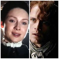 The reunion...seeing each other again 20 years!!! Outlander Book 3, Outlander Season 3, Outlander Quotes, Claire Fraser, Jamie And Claire, Jamie Fraser, Diana Gabaldon, Gabaldon Outlander, Movies