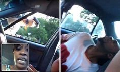 Woman films boyfriend apparently dying after cop shooting