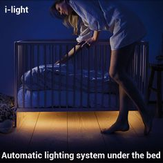 i-light Motion Sensing LED Bed Lights Bedroom Baby