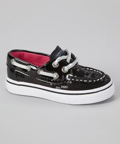 Another great find on #zulily! Black Bahama Boat Shoe by Sperry Top-Sider #zulilyfinds