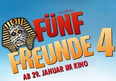"""Gewinne im Kidoh Wettbewerb 5 x ein Fan-Paket zum Film """"Fünf Freunde 4″!  Du gewinnst ein Filmplakat, ein Buch zum Film und das Hörbuch zum Film.  Gewinne hier: http://www.gratis-schweiz.ch/gewinne-ein-fan-paket/"""