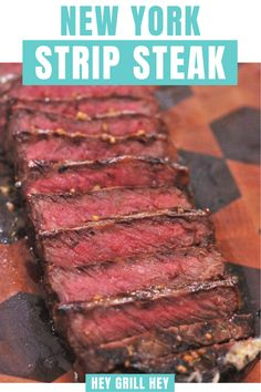Strip steak (also called a New York Strip Steak, or New York Strip) is a beautiful cut of beef that requires little more than high heat, simple seasoning, and some solid technique. In this post, I'll give you the tools to cook a better-than-restaurant quality strip steak at home.