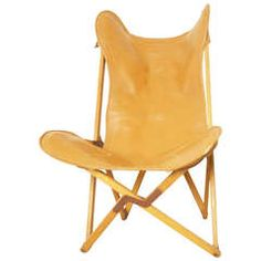Rare Tripolina Folding Chair