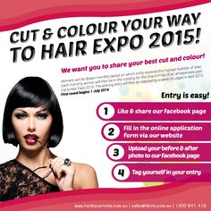 Hair Beauty Ink is excited to announce that we are running a Facebook exclusive Cut and Colour Competition!   head to www.facebook.com/hairbeautyink to find out more!  #haircomp #goldcoast #melbournehair #brisbanehair #crazyhair #competition
