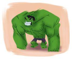 Scott Gwynn Comic Books Art, Book Art, Marvel Art, Art Styles, Inspiring Art, Doodle Art, Hulk, Fashion Art, Dinosaur Stuffed Animal