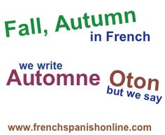 Pronunciation Tip in French: Automne