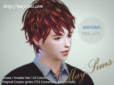 Mayims: TS4 Hair - May_TS4_Hair57U