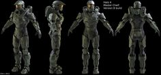 Halo 4 Master Cheif (collab) by on DeviantArt Master Chief Armor, Master Chief Petty Officer, Halo Ships, John 117, Halo Cosplay, New Halo, Halo Armor, Halo Game, Knight Armor