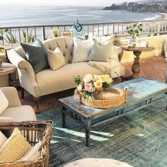 """classic • casual • home: Amazing Ocean View Wedding """"Old California Style"""""""