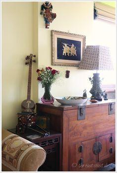 Pretty little corners - global decor/eclectic decor