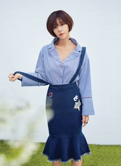 Hwang Jung Eum - IFNE (S/S '17) Korean Wave, Korean Star, Korean Girl, Korean Actresses, Korean Actors, Actors & Actresses, Hwang Jung Eum, Yong Pal, Lee Bo Young