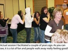 My Favorite Team Builder - Perfect for Team Cohesion Here is one of my favorite all time team builders. Do you want greater team cohesion at the end of a training event or meeting? Do you want people leaving your training event or meeting feeling really good? Try this team builder activity. I have personally facilitated this activity many times and it has never failed. Need another team building activity? http://www.teamworkandleadership.com/team-building-exercises/