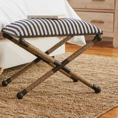 Let guests kick off their shoes in the entryway with this essential bench, or set it in the living room for an effortless update to your seating ensemble.