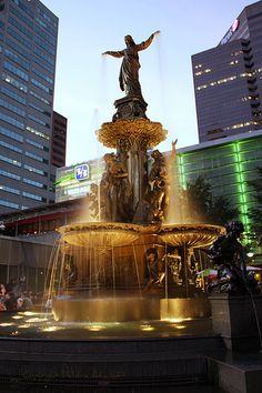 Fountian Square Cincinnati My shot of Fountain Square Newport, Ohio Is For Lovers, Nashville, Orlando, Fountain Square, Atlanta, Ohio River, The Places Youll Go, Paraty