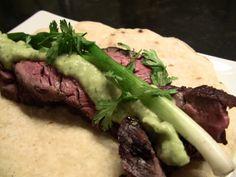 Tequila Marinated Skirt Steak Tacos