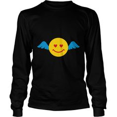 Black love_smile_wings Long sleeve shirts  #gift #ideas #Popular #Everything #Videos #Shop #Animals #pets #Architecture #Art #Cars #motorcycles #Celebrities #DIY #crafts #Design #Education #Entertainment #Food #drink #Gardening #Geek #Hair #beauty #Health #fitness #History #Holidays #events #Home decor #Humor #Illustrations #posters #Kids #parenting #Men #Outdoors #Photography #Products #Quotes #Science #nature #Sports #Tattoos #Technology #Travel #Weddings #Women