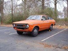 Orange Datsun b210 - my second car