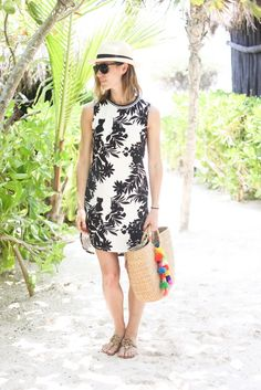 Palm Tree Prints and Panama Hats - Sportsanista