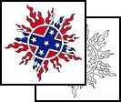 rebel tattoos for women | confederate Tattoos, flag Tattoos, rebel Tattoos, redneck Tattoos,