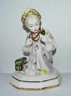 Vintge Russian Soviet Era Porcelain Figurine 1960s | eBay