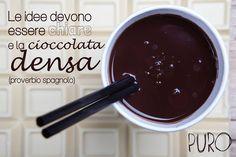 #cioccolatacalda #cioccolato #puro