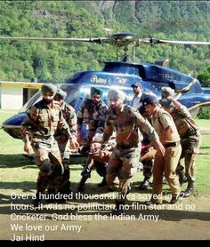 Indian army...