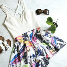 Love Me Playsuit  Only at brooklimeboutique.com #summer #romper #playsuit #brooklimeboutique #canadafashion