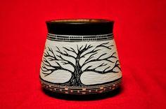 Pottery by Patrick Leach, via Behance