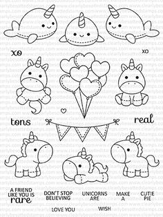 This is a inch clear stamp set. Approximate Measurements: Front Facing Seal - x inches Tree Island - x inches Umbrella - x inches Cute Easy Drawings, Kawaii Drawings, Doodle Drawings, Kawaii Doodles, Cute Doodles, Cute Doodle Art, Doodle Art Designs, Tier Doodles, Griffonnages Kawaii