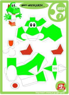 Mario Mario Bros And Papercraft On Pinterest