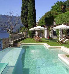 Relais Villa Vittoria on Lake Como, Italy: a romantic lakeside retreat.
