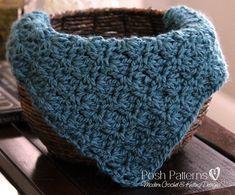Crochet PATTERN - Basket Stuffer Baby Blanket Wrap Photo Prop Pattern - Instant Download PDF 173 - Photo Prop Pattern