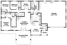Ranch basement layout ideas full size of ranch house designs inc delightful 4 bedroom plans 1 . Ranch Home Floor Plans, Floor Plan 4 Bedroom, Modular Home Floor Plans, 4 Bedroom House Plans, Farmhouse Floor Plans, Basement House Plans, Garage Plans, Car Garage, Rambler House Plans