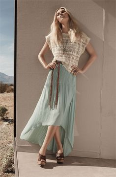 Sanctuary Top & Maxi Skirt