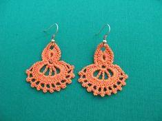 PDF Tutorial Crochet Pattern...Dangle Earrings by accessoriesbynez