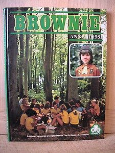The Brownie Annual. Girl Guides. 1981.